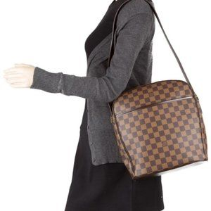 Louis Vuitton Ipanema Gm Damier Ebene Shoulder Bag